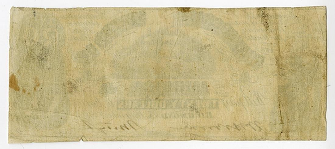 C.S.A.  1861 $20 T-18, CR-129, Issued banknote. - 2