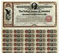 Spanish American War - Three Per Cent Loan of 1898, $20