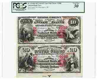 The Central National Bank of Washington City, 1875,
