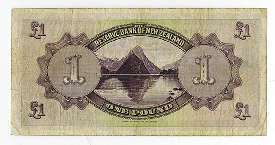 Reserve Bank of New Zealand, 1934 Issued Banknote. - 2