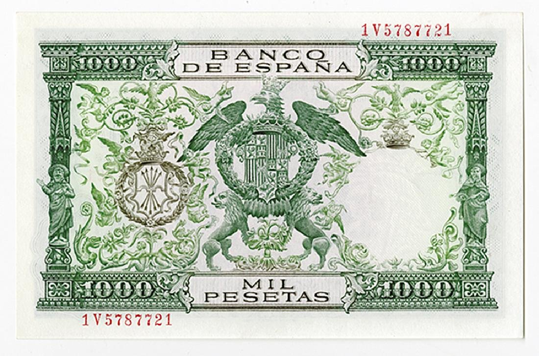 Banco De Espana, 1957 Issued Banknote. - 2
