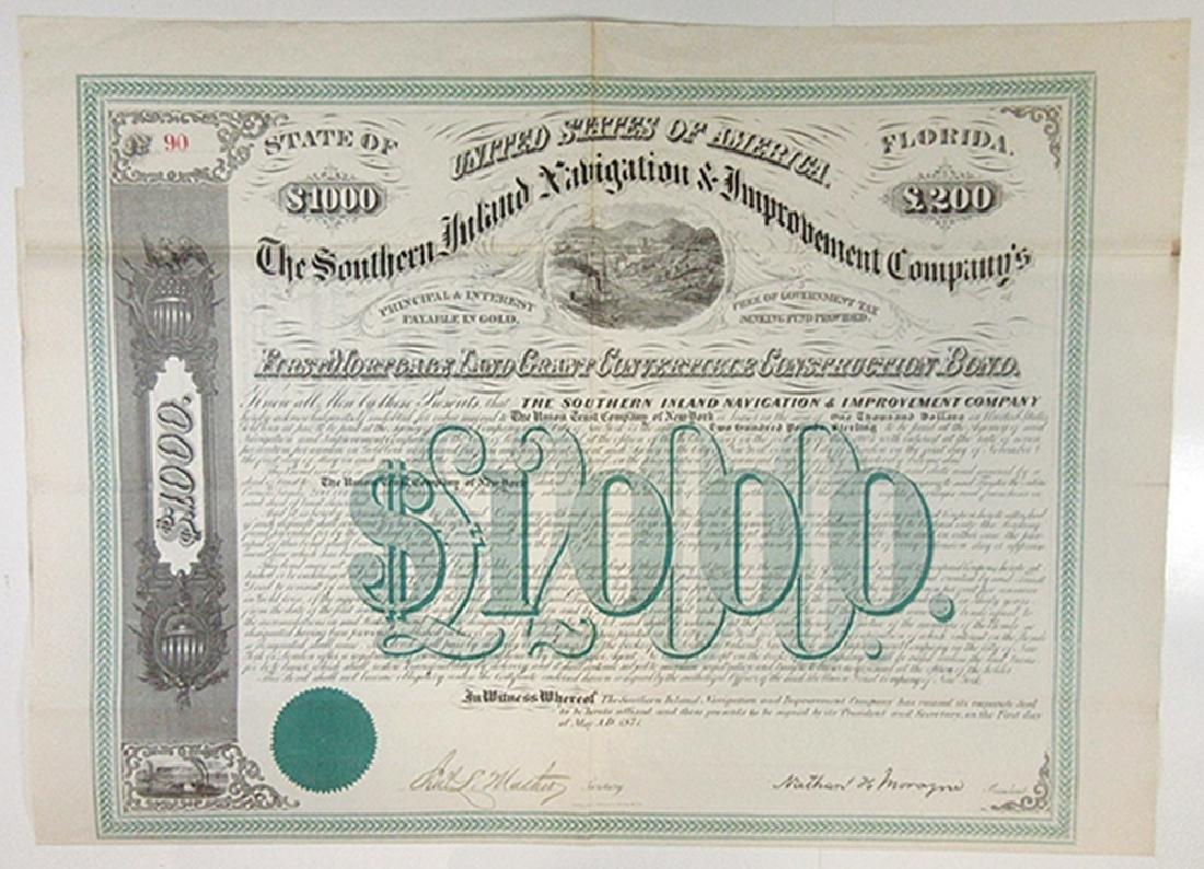 Southern Inland Navigation & Improvement Co., 1871