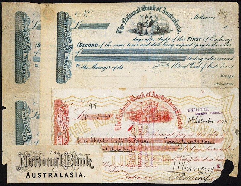 18: National Bank of Australasia Exchange Assortment.