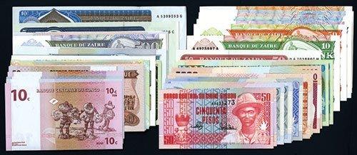 2004: African Banknote Melange.