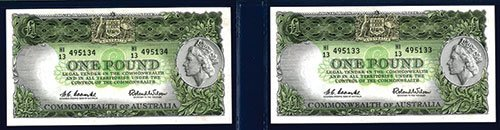 2012: Commonwealth of Australia, ND (1953-60) Issue Seq
