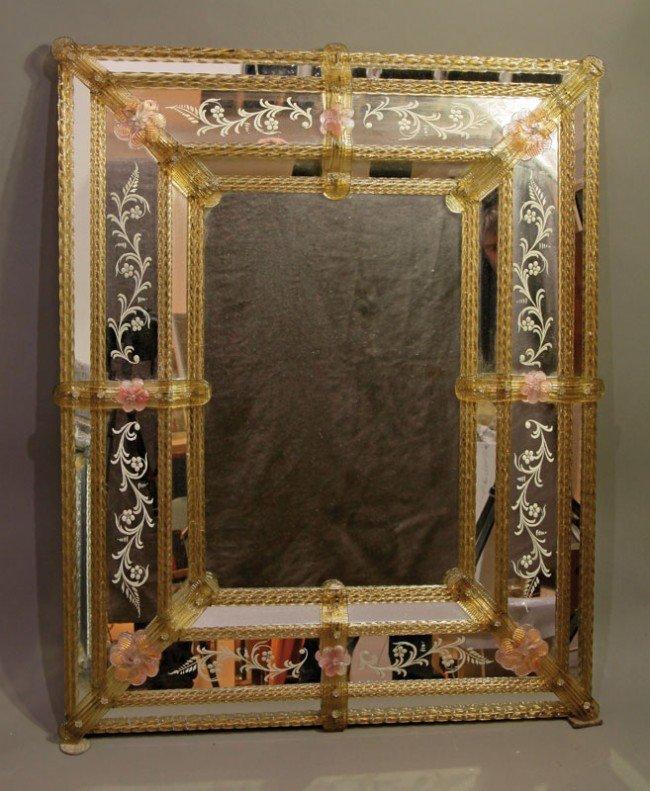 17: Venezianischer Spiegel im Stil des 18. Jahrhunderts