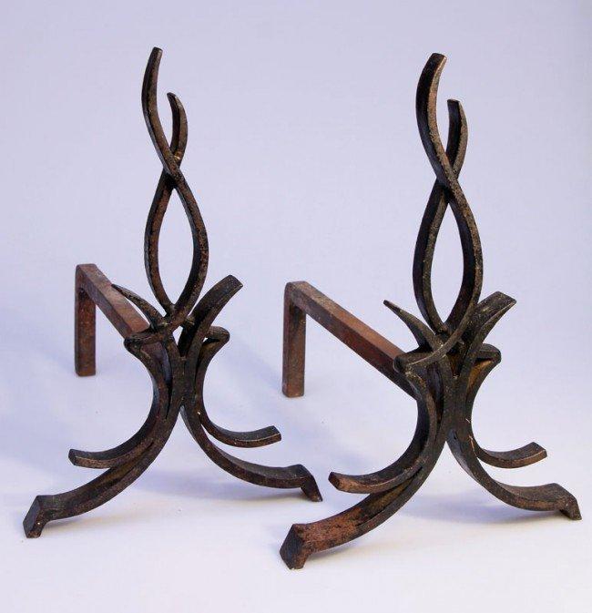 18: Paar Kaminböcke