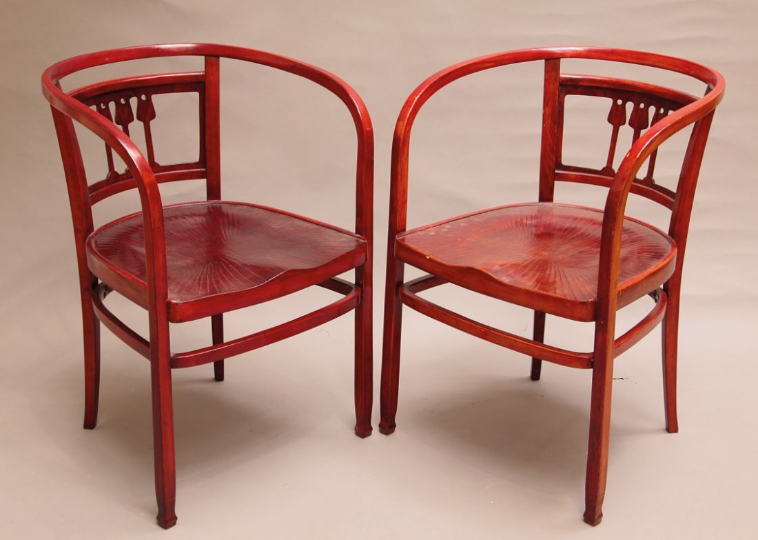 5: Paar Armlehnstühle Mod.426/F
