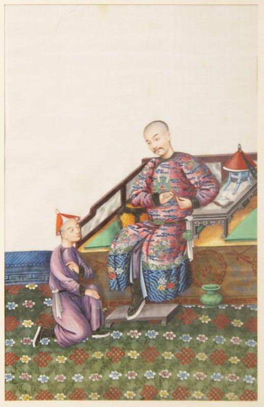 Malerei mit 2 Figuren
