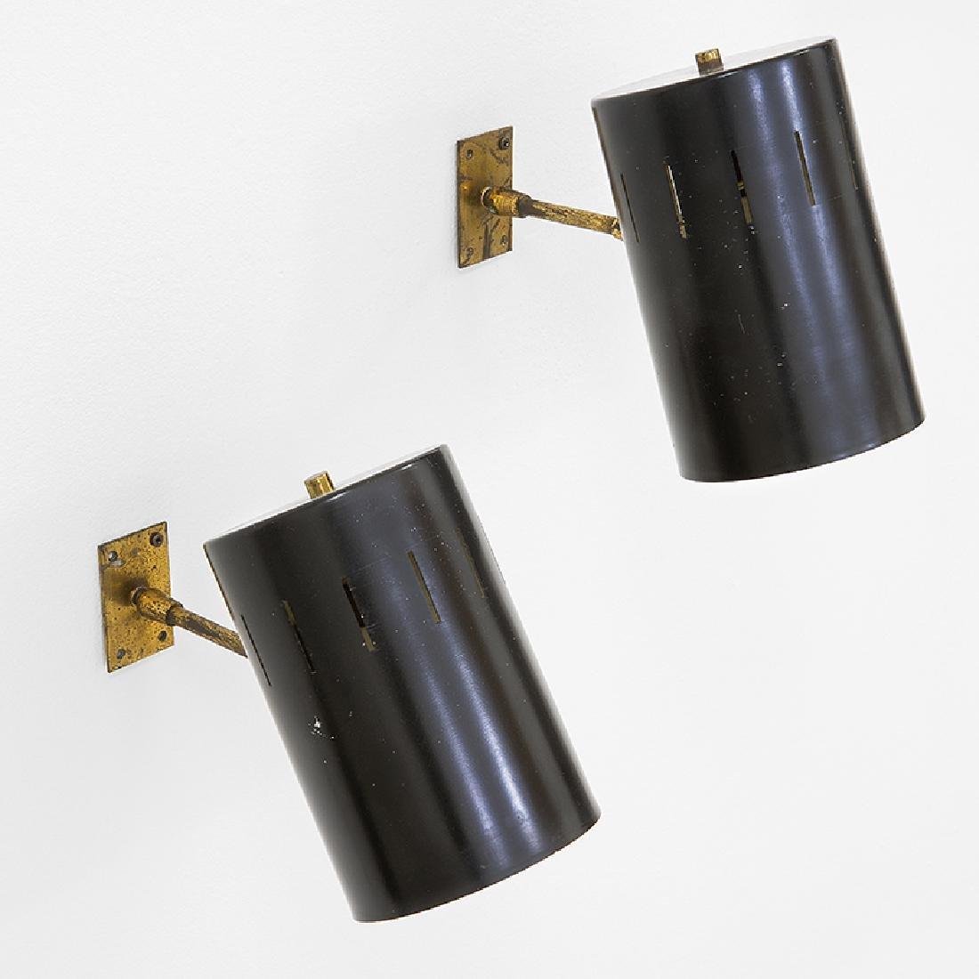 Due lampade da parete