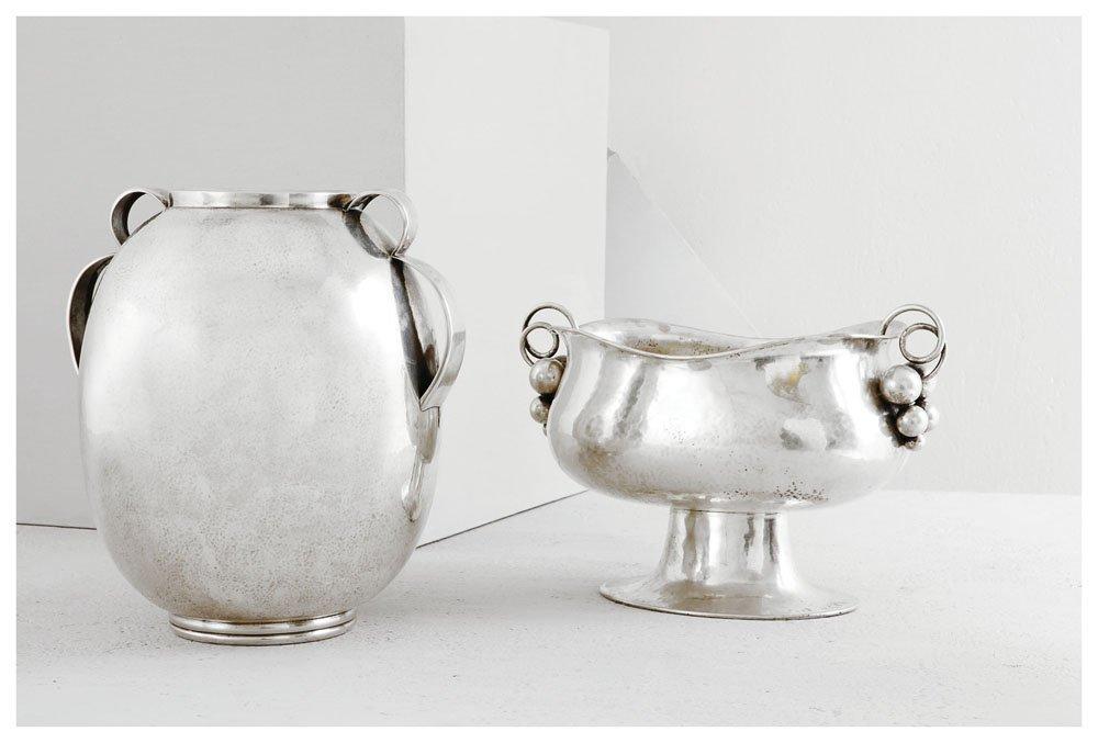 5: Vaso in argento