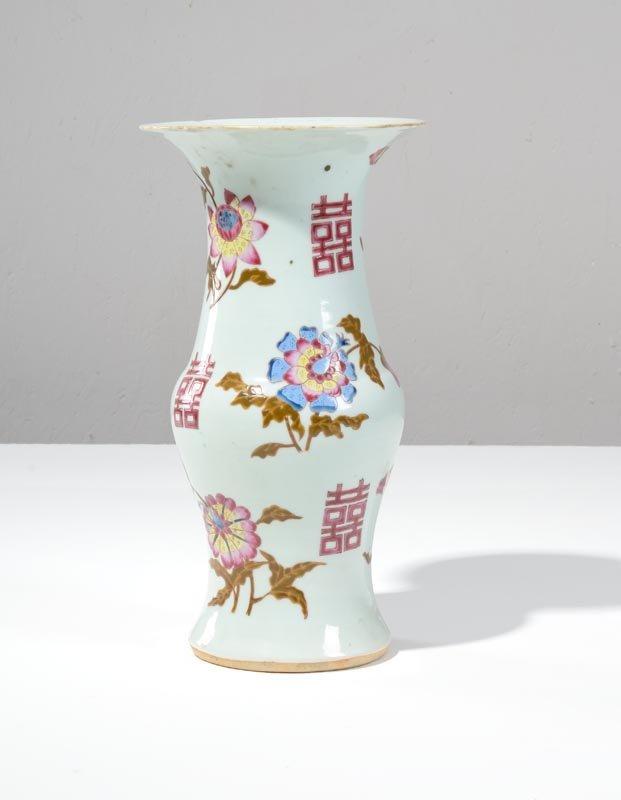 Vaso in porcellana di Cina