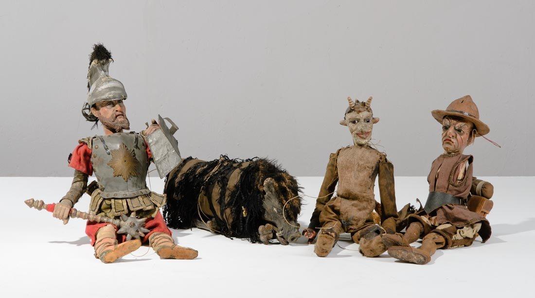 Quattro marionette