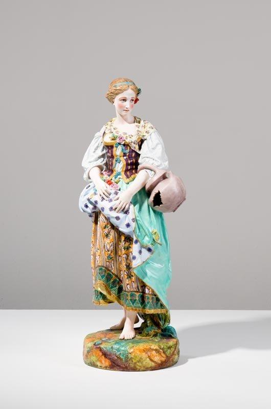 Statua in porcellana