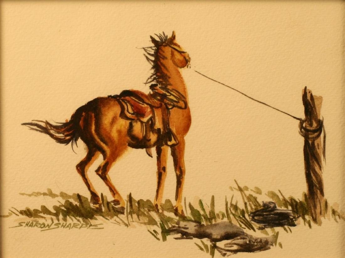Sharon Sharpe, Watercolor,