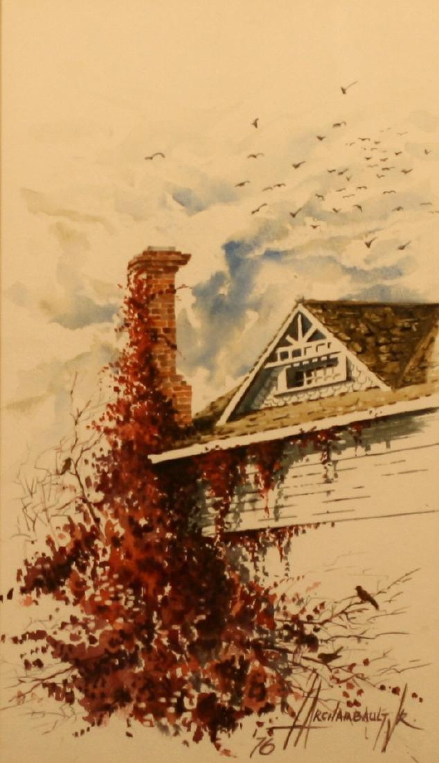 Louis Archambault Jr., Watercolor