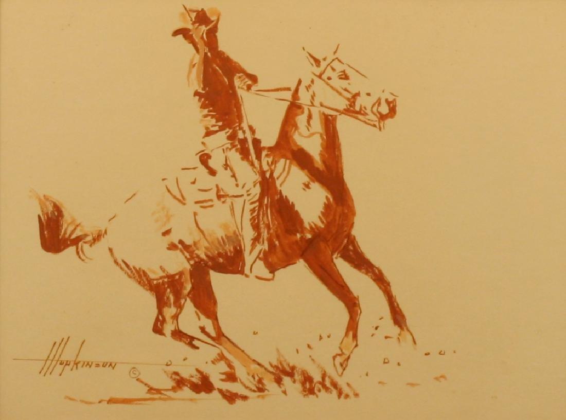Harold Hopkinson, Watercolor,