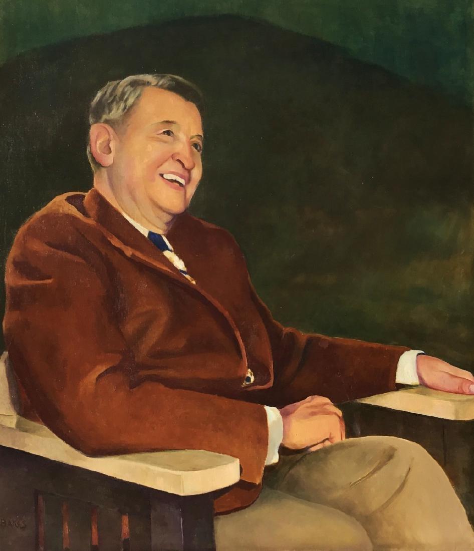 Jozef Bakos, Oil on Canvas,