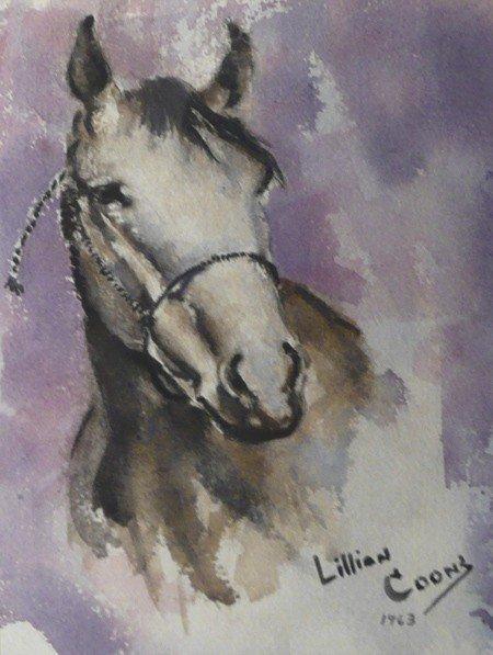 2: Lillian Coons, Watercolor