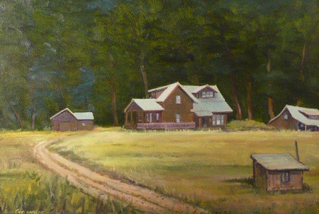 9: Charles D. Gilmore, Oil on Board