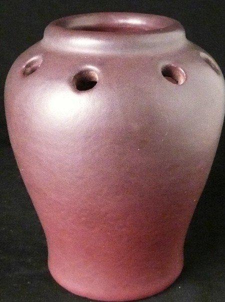 10: Van Briggle Vase, A. Schlegel