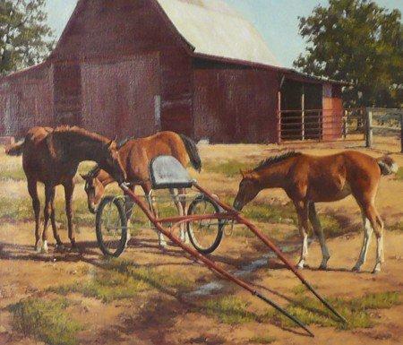 177: Barbara Vaupel, Oil on Canvas