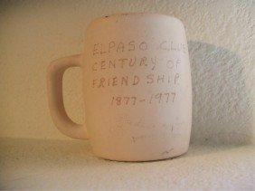 Van Briggle Mug In The Bisque