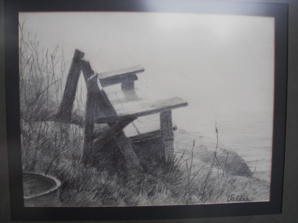 14: Jack Vallee, pencil drawing Graphite on Paper