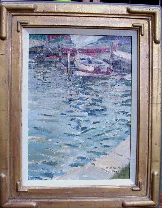 "23: Kang Yon Cho, ""Overcast Day - Lake Geneva"""