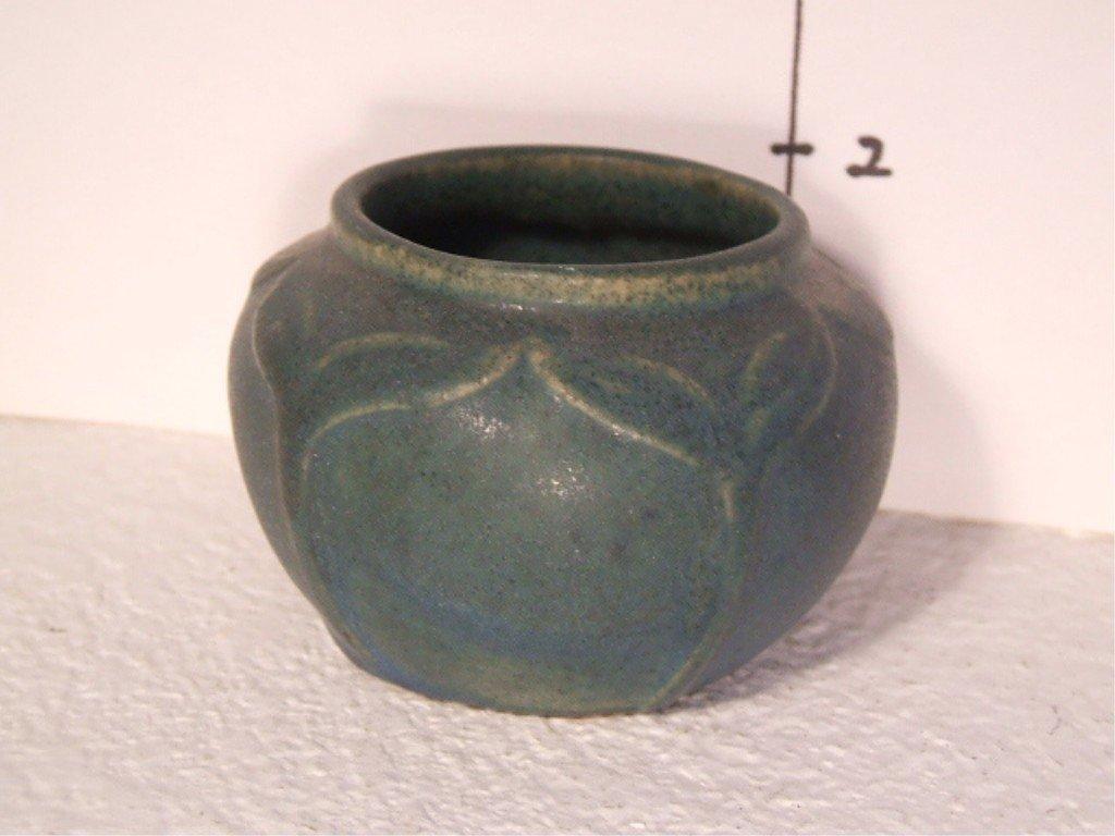 212: Van Briggle Pot, Ming Turquoise