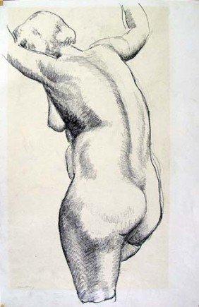 Tabor Utley Crayon Of Nude