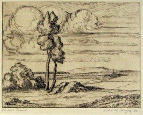 20: Alice Hogue Etching