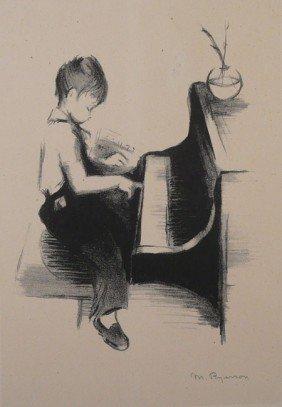 23: Margery Austen Ryerson Lithograph