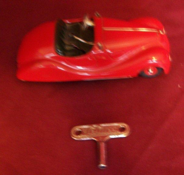 3: Schuco Tin Racecar #4001