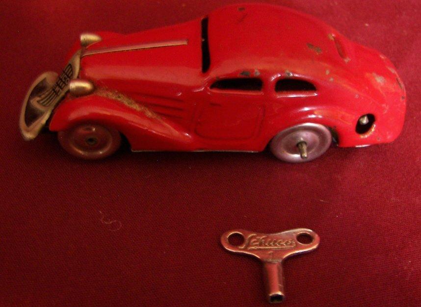 4: Schuco Tin Toy Car, #1001