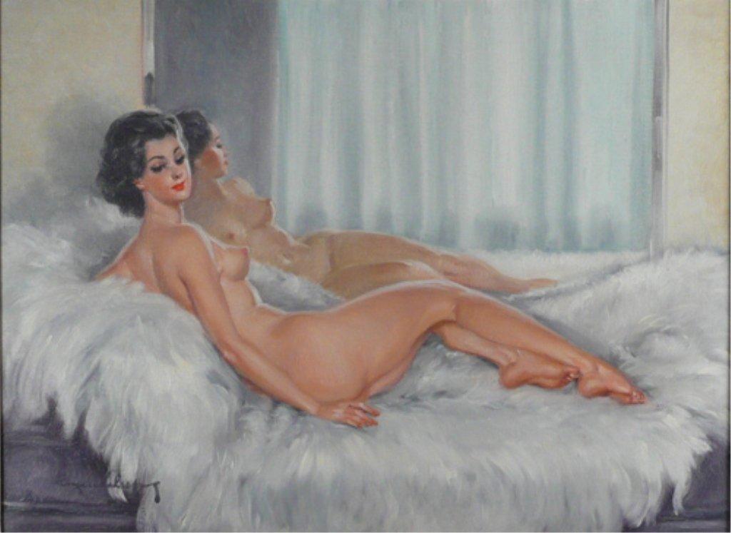 216: Eugene Leliepvre, Oil