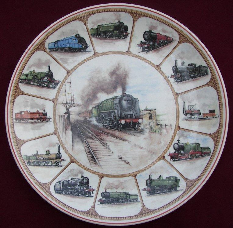 2: Wedgwood, Railroad Plate