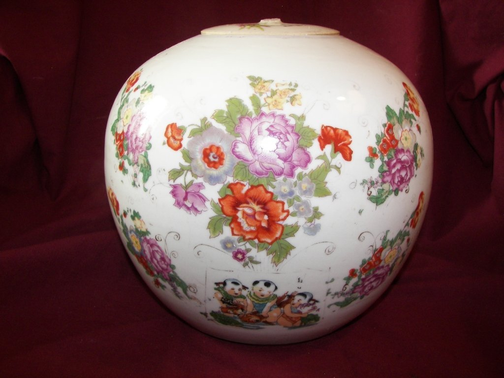 10A: 19th Century, Chinese Ginger Jar