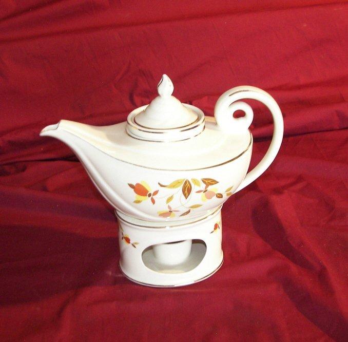 12A: Halls Superior,  Aladdin Teapot