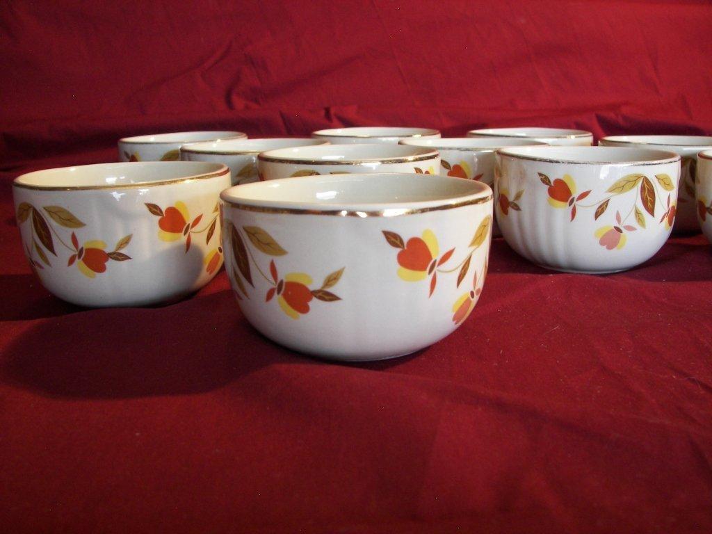 14: Halls Superior, Custard Cups Set Of 11