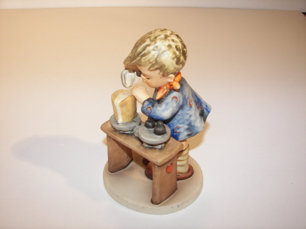 """16: Goebel Hummel Figurine """" A Fair Measure """""""