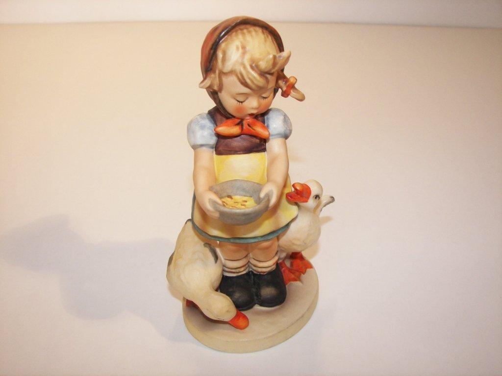"""21: Goebel Hummel Figurine """" Be Patient """""""