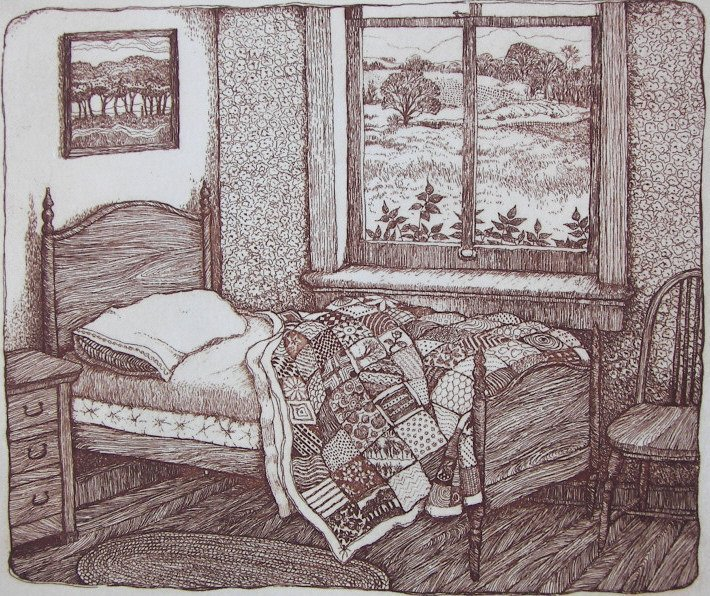 Susan Hunt-Wulkowicz, Etching