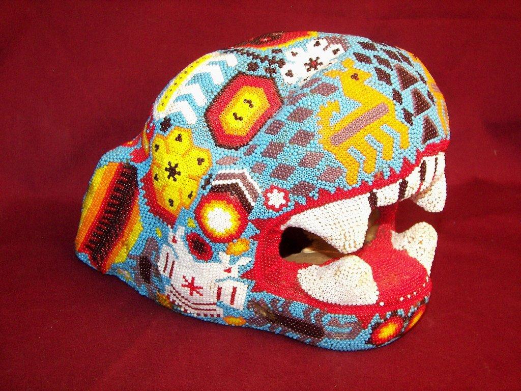 Heichol Beaded Jaguar Head