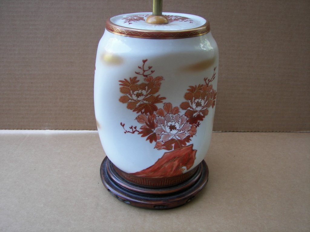 Imari Style Lamps