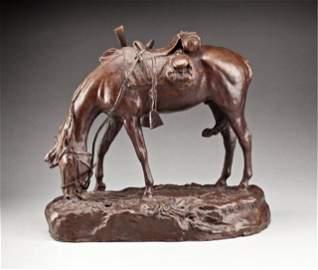 Henry Merwin Shrady (1871-1922), Horse Bonze