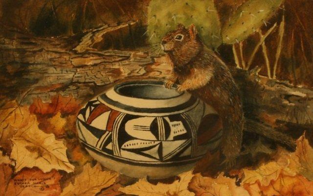 Esther Marie Versch, Watercolor,