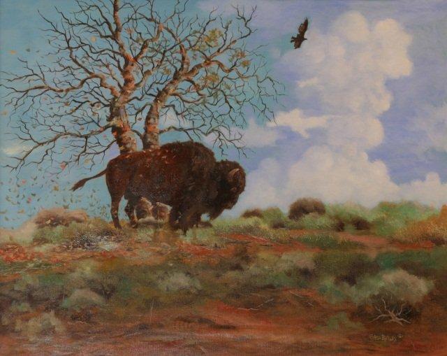 Asa Battles, Oil on Canvas,