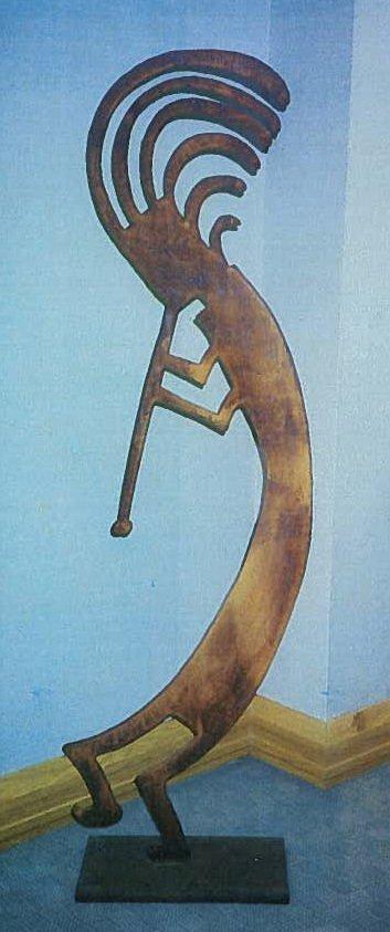 Myers, Metal Sculpture,