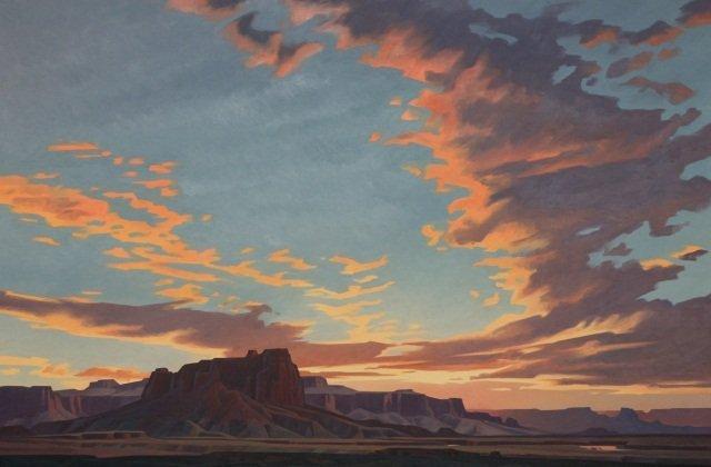 Ed Mell, Oil on Linen